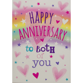 Anniversary Both Of  You