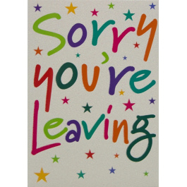 Sorry Your Leaving