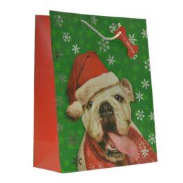 COMING SOON- Medium Bag Beary Christmas Cat
