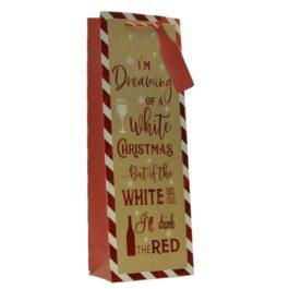 COMING SOON- Medium Bag Cardinal Holly Leaf