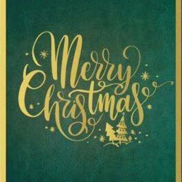 "COMING SOON- Medium Bag Script ""Merry Christmas"""