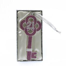 21st Good Luck Key Light Pink