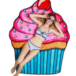 Big Mouth Beach Blanket – Cupcake