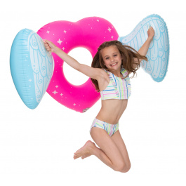 Big Mouth Kids Angel Heart Pool Float