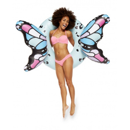 Big Mouth Butterfly Blue Wings Pool Float