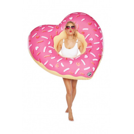 Big Mouth Heart Donut Pool Float