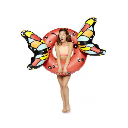 Big Mouth Butterfly Red Wings Pool Float