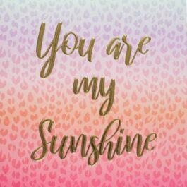 Square Card 'Sunshine' – Sahara