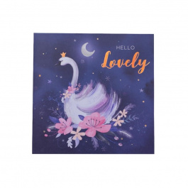 Square Card 'Hello Lovely' – Waterlilly