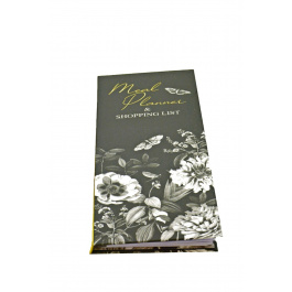 Meal Planner Botanical Etchings