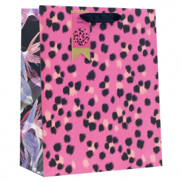 Large Bag Abstract Leopard Print