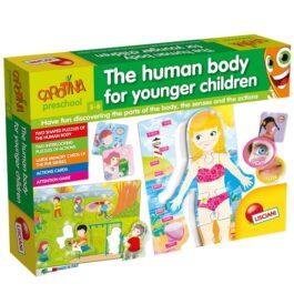 Carotina Preschool Human Body For Children