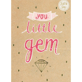 Just To Say – Little Gem