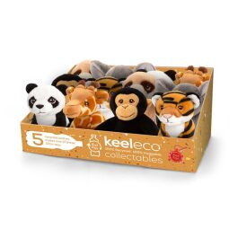 Keel Toys Keeleco – Wild Collection 6 Asst/12PC 12cm