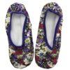 Skinnies Purple Floral Fiesta