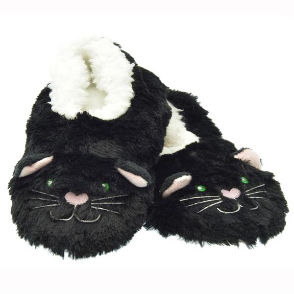 Snoozies Cat Kids Furry Footpal