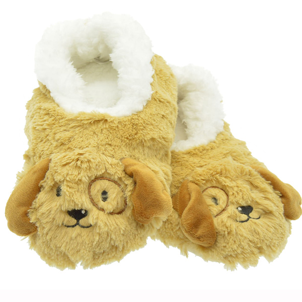 snoozies dogs kids furry footpals