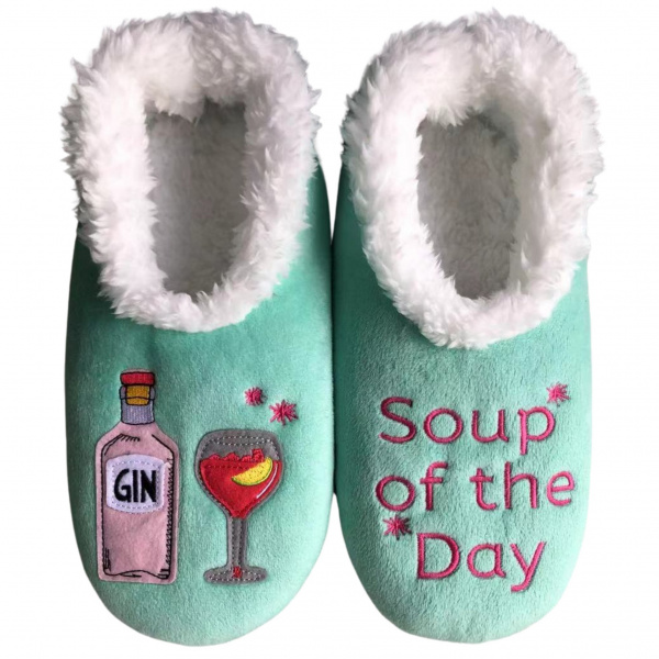 Snoozies Gin Soup of the Day