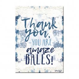 Splosh – Thank You Magnet – Amazeballs