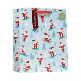 COMING SOON- Large Bag Skiing Santa