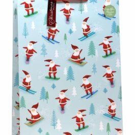 COMING SOON- Extra Large Bag Skiing Santa