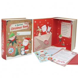 Christmas Eve Book Santa & Friends