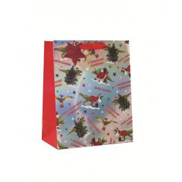 Large Bag TRex Christmas