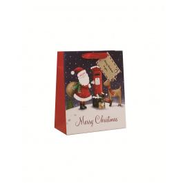 Medium Bag Santa & Post Box