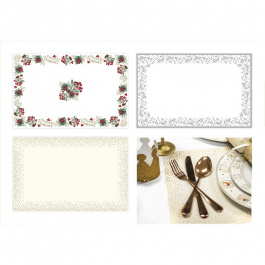 COMING SOON- 6 Disposable Paper Placemats