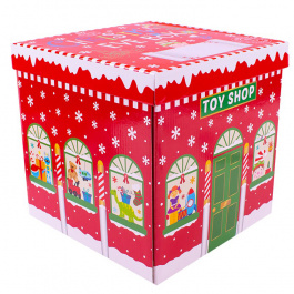 Box Flat Packed Large Toy Shop
