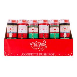 Crackers Confetti Push Pop