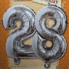 Balloon Card – Age 28
