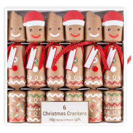 6 Gingerbread Crackers