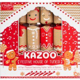 6 Kazoo Gingerbread Crackers